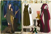 Игра Wood elf dress up game на FlashRoom