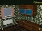 Green Living Room Puzzle на FlashRoom