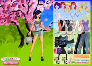 Denim Shorts Dress Up на FlashRoom