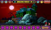 Игра Halloween Green House Escape фото