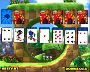 Sonic Solitaire Game на FlashRoom