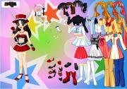 Выбери аниме-костюм! на FlashRoom
