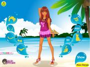 Vacation in Cancun Dress Up на FlashRoom