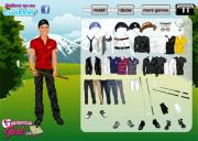 Игра Tiger Woods Dressup фото