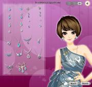 Glamorous Blue Stone Jewelry на FlashRoom