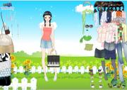 Spring Shopping Dress Up на FlashRoom