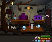 Игра Eerie Room Escape на FlashRoom