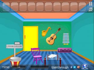 Musical Instrument Room Escape на FlashRoom