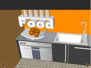 Orange Kitchen Escape на FlashRoom