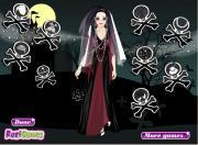 Stylish Gothic Bride на FlashRoom