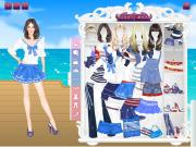 Navy Princess Dress Up на FlashRoom
