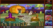 Игра Garden Pumpkin House Escape фото