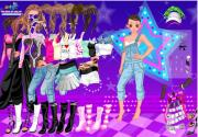 Dancing Star Dress Up на FlashRoom