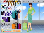 Stewardess Dress Up Game на FlashRoom