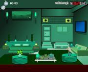 Green Bed Room Escape на FlashRoom