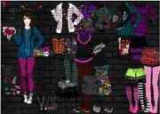 Dazzling Emo Styles на FlashRoom