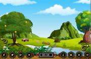 Игра Escape the car in Landscape Lawn фото