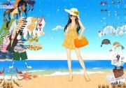 Beach Dressup 2 на FlashRoom