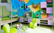 Дом с детскими игрушками на FlashRoom