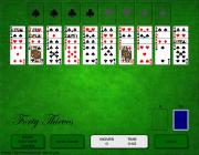 Forty Thieves Solitaire на FlashRoom