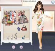 Belted Floral Dresses на FlashRoom