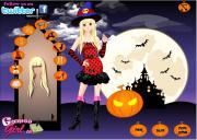 Funny Halloween Girl Dress Up на FlashRoom