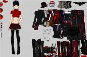Goth Girlz Dress Up на FlashRoom