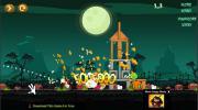 Игра Angry Birds Halloween HD на FlashRoom