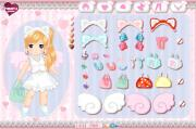 Cute chibi girl dress up game на FlashRoom