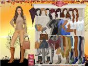 Golden Autumn Dress Up на FlashRoom