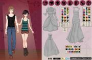 Vampire Couple dress up game на FlashRoom
