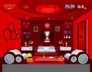 Fresh Furniture Red Living Room Escape на FlashRoom