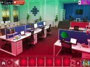 Игра Санта в офисе на FlashRoom
