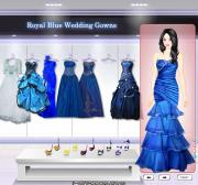 Royal Blue Wedding Gowns