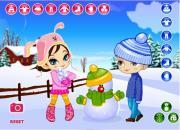 Зимние забавы на FlashRoom