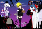 Asian Halloween Dress Up на FlashRoom