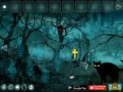 Scary Black Cat Forest Escape на FlashRoom