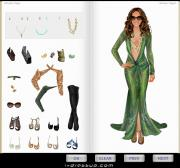 Игра Dress Up Jennifer Lopez фото