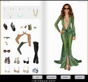Dress Up Jennifer Lopez на FlashRoom