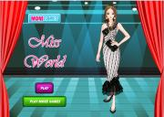 Игра Miss world dress up фото
