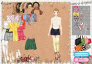 Sixties Vintage Dress Up на FlashRoom