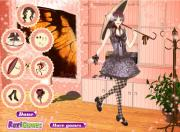 Gothic Lolita Fashion Dress Up на FlashRoom