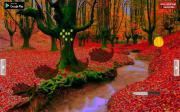 Игра Девушка в осеннем лесу на FlashRoom