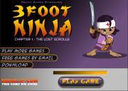 Игра 3 Foot Ninja на FlashRoom