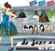 Peacock Dresses на FlashRoom