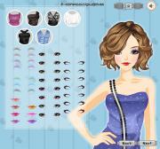 Wavy Hairstyle на FlashRoom