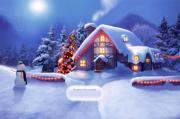 Побрей Деда Мороза на FlashRoom