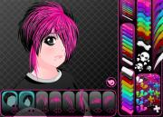 Причёска для эмо девочки на FlashRoom