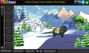 Escape Penguin From Igloo House