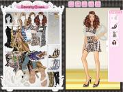 Leopard Princess Dress Up